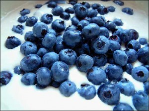 Delicious blueberries