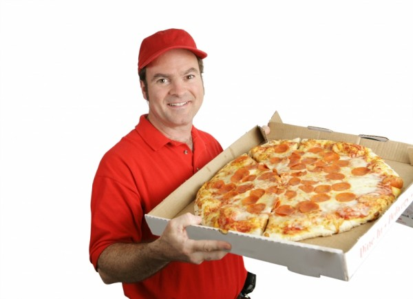 Pizza deliverer