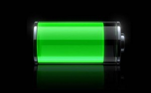 Almost fully charged battery