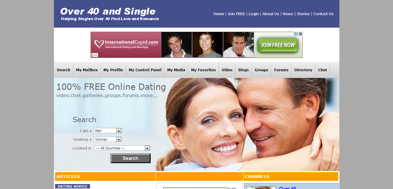International dating chat room