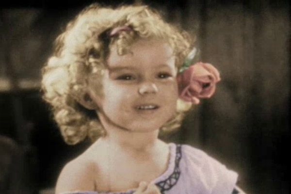 Shirley Temple acting