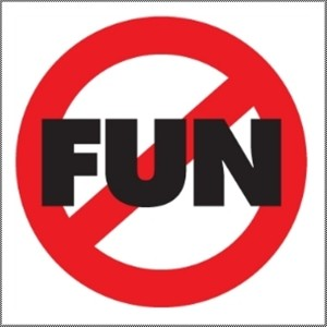 no fun means no social life, sign of burnout