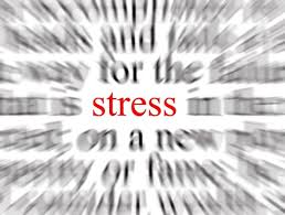 a clear sign indicating the stress factor