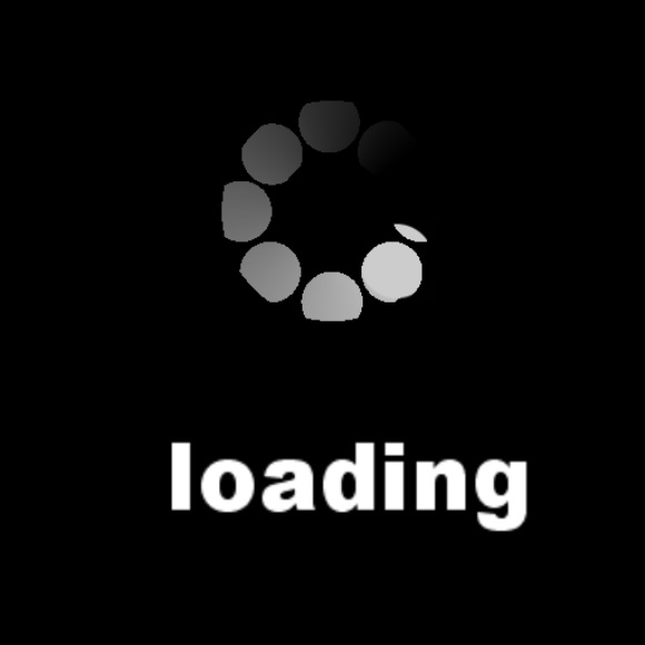 a loading page