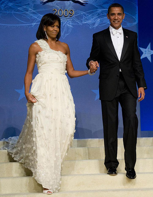 Michelle Obama Inaugural Ball dress 2009