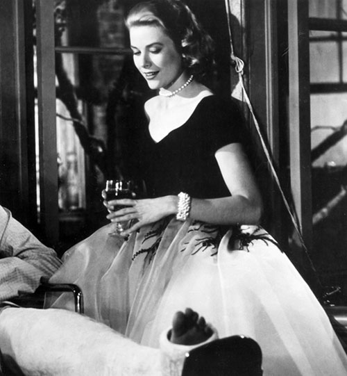 Grace Kelly Edith Head Rear Window Dior New Look
