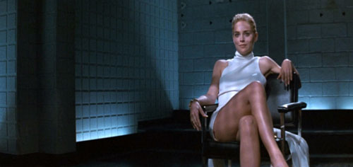 Basic Instinct Sharon Stone white dress