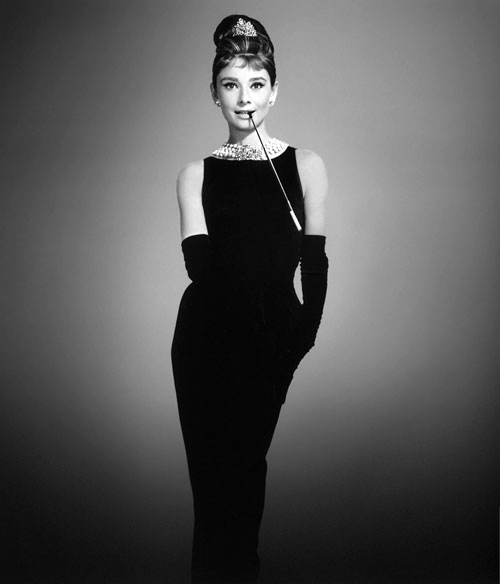 Audrey Hepburn Givenchy Breakfast at Tiffany's