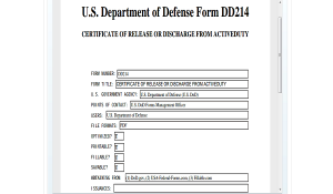 file for unemployment military service
