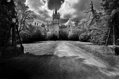supernatural legend haunted castle