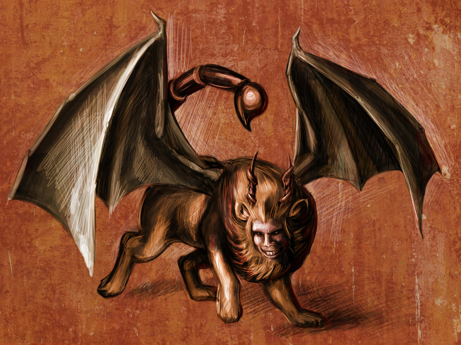 supernatural legend manticore