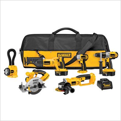 6 Tool Combo Kit with Impact Driver