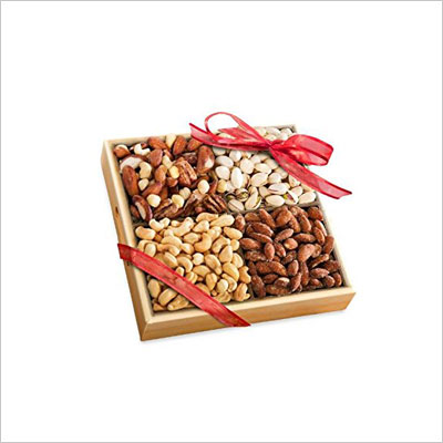 Assorted Nuts Gift Tray