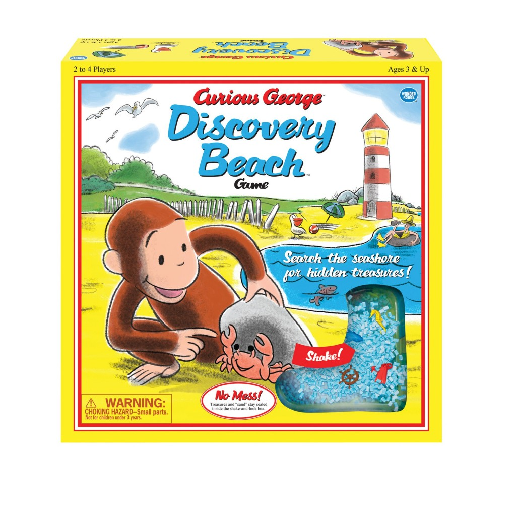 Curious George Discovery Beach Game Vintage Edition