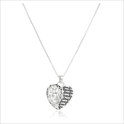 Forever Heart Pendant Necklace