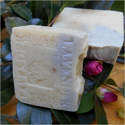 Organic Shea Butter Bar Soap