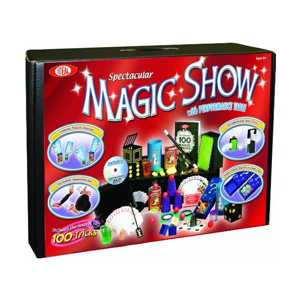 POOF Slinky Ideal 100 Trick Spectacular Magic Show Suitcase