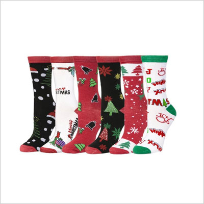 Soft-Stretchy Christmas Socks