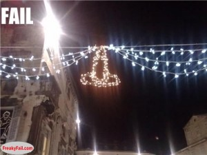 cities get a new lighting for christmas