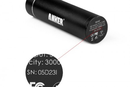 Aluminum Portable Charger Anker PowerCore mini