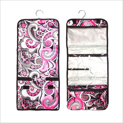 Hanging Cosmetic and Toiletry Travel Bag