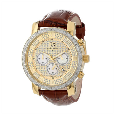 Men's JS-28-03 Diamond Chronograph Quartz Watch