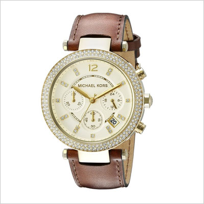 Women's MK2249 Parker Gold-Tone Stainless Steel Watch