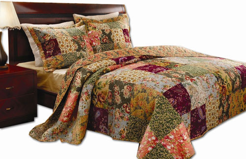 Greenland Home Antique Chic Full/Queen Quilt Set