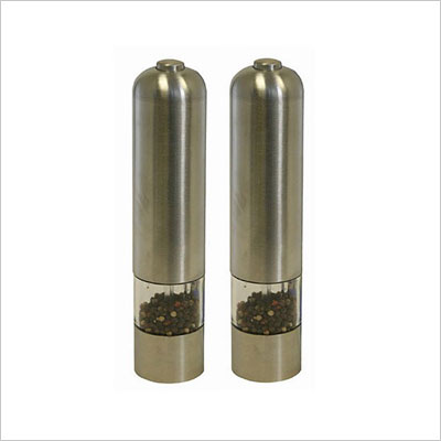 Automatic Stainless Steel Pepper Mill