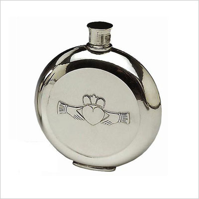 Mullingar Pewter Pocket Whiskey Flask