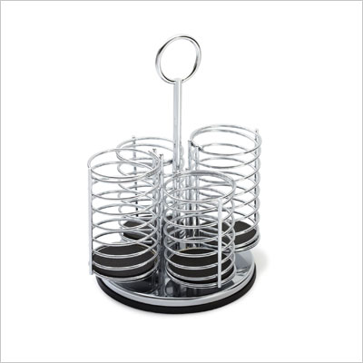 Prodyne M-935 Chromed Metal Flatware Caddy
