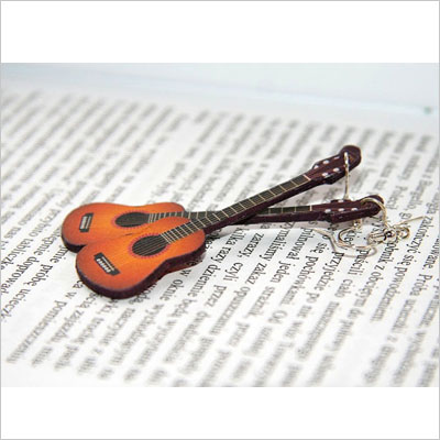 Guitar Gift Earrings Ideas