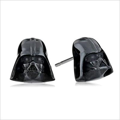 Star Wars Darth Vader Stainless Steel Stud Earrings