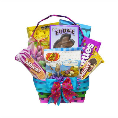 Chocolate and Candy Easter Gift Basket