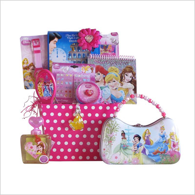 Disney Princess Valentines Day Gift Basket