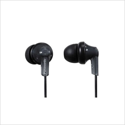 Panasonic RPHJE120K In-Ear Headphone