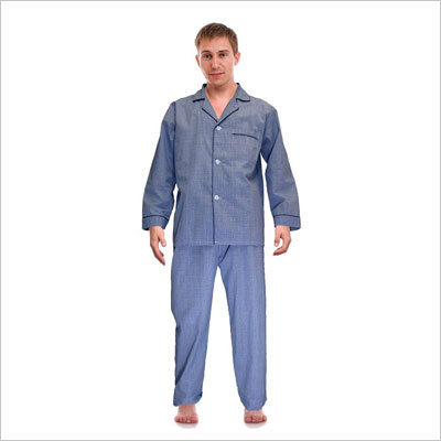 Men's Broadcloth Woven Pajama Set