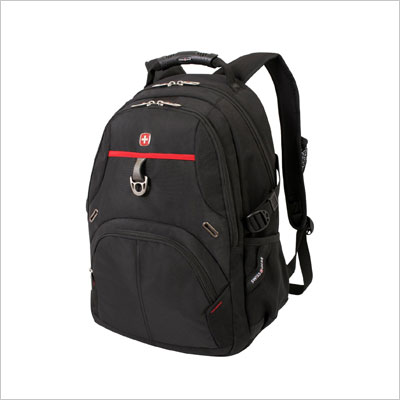 SwissGear Laptop Computer Backpack with Secure Velcro Strap Closure