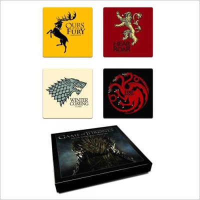 Game of Thrones House Sigil Coaster Set