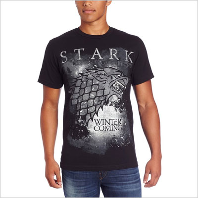 Game-of-Thrones Winter Is Coming Stark T-Shirt