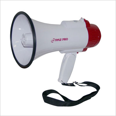 Professional Megaphone with Siren