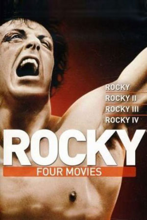 Rocky Movie Series 1-4