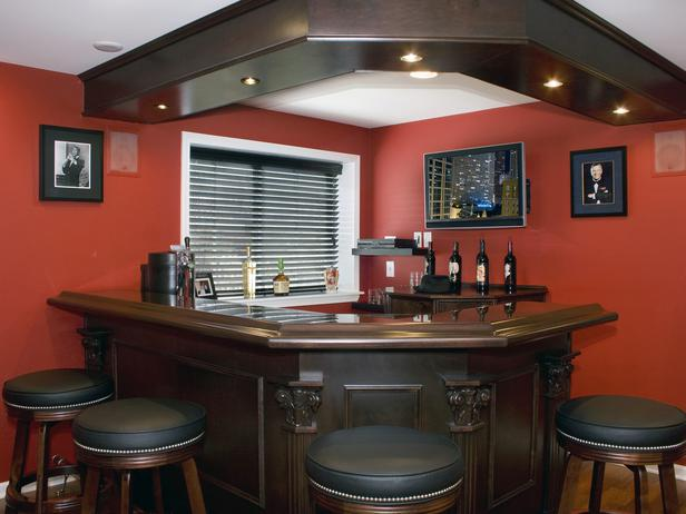 Solid Wood Bar