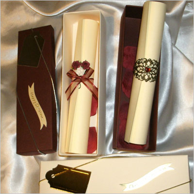 Birthday gift present personalized poem scroll