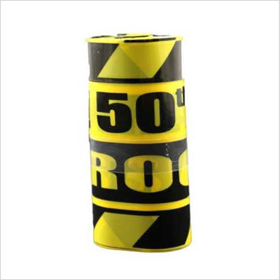 Caution 50 Party Tape 50th Birthday