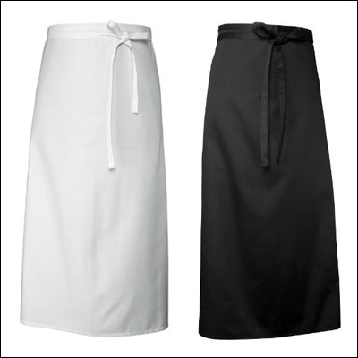 Chef Works CFLA-BLK Chef's Full Length Apron