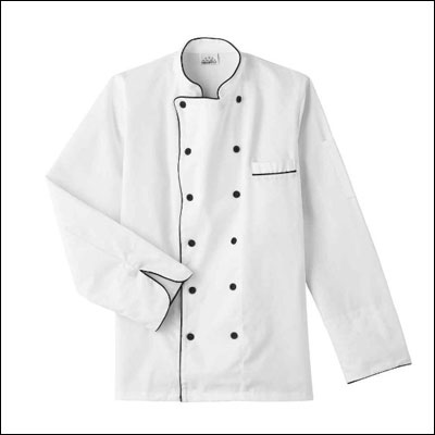 White Swan Five Star Chef Apparel Unisex Executive Chef Coat