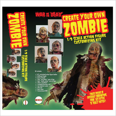 Scale Customizing Kit Make Your Own Zombie