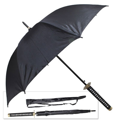 Japanese Anime Samurai Sword Umbrella Katana Replica
