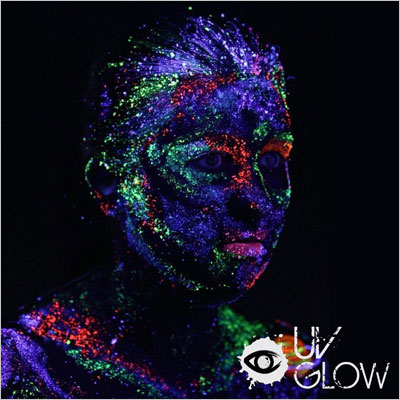 UV Glow Blacklight Face and Body Paint